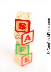 Alphabet Block Safe