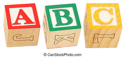 Alphabet Blocks ABC