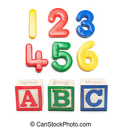 Alphabet Blocks abd Numbers