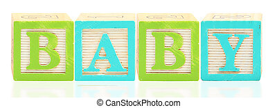 Alphabet Blocks BABY