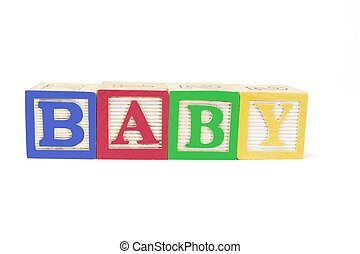 Alphabet Blocks - Baby