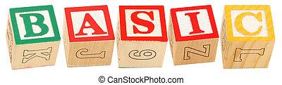Alphabet Blocks BASIC