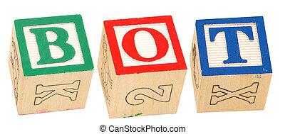 Alphabet Blocks BOT