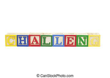 Alphabet Blocks - Challen