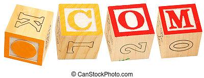 Alphabet Blocks .COM