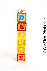 Alphabet Blocks DELUXE