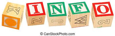 Alphabet Blocks .INFO