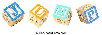Alphabet Blocks JUMP