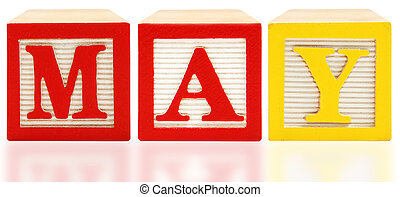 Alphabet Blocks May