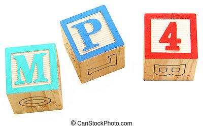 alphabet blocks mp4
