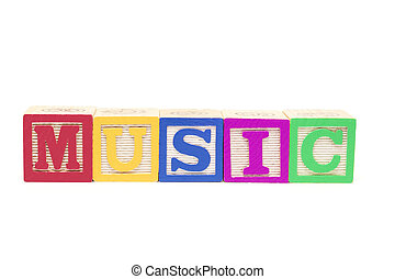 Alphabet Blocks - Music