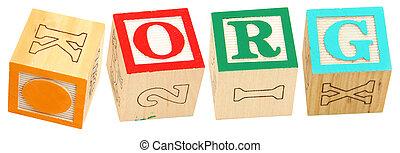 Alphabet Blocks .ORG