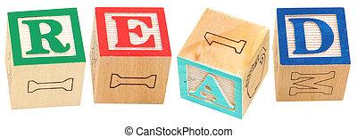 Alphabet Blocks READ