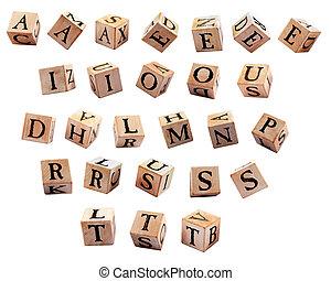 Alphabet Blocks - Supplimentary Set (#3)