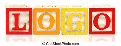 alphabet bloque, logo