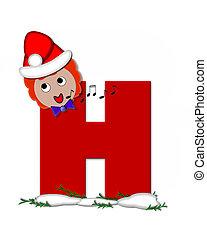 Alphabet Carol of Christmas H