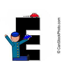 Alphabet Children Automobiles