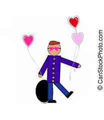 Alphabet Children Valentines Period