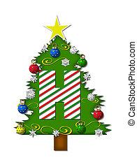 Alphabet Christmas Joy H - The letter H, in the alphabet set...