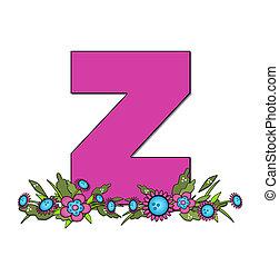 Alphabet Country Lane Two Z