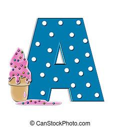 Alphabet Creamy Treat A