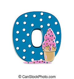 Alphabet Creamy Treat O