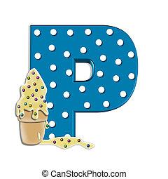 Alphabet Creamy Treat P