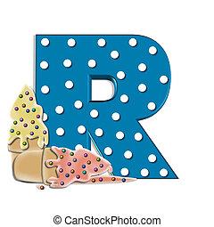 Alphabet Creamy Treat R
