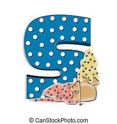 Alphabet Creamy Treat S
