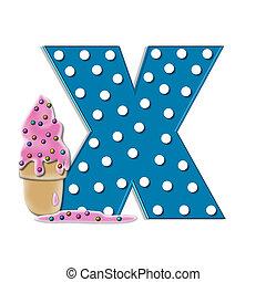 Alphabet Creamy Treat X