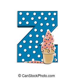 Alphabet Creamy Treat Z
