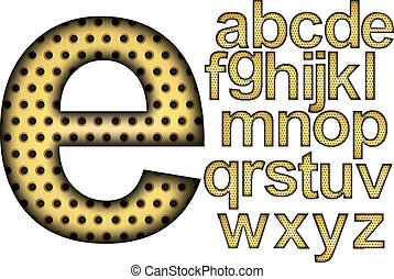 alphabet design. vector