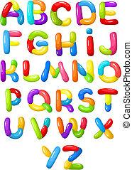 alphabet - vector illustration of a alphabet