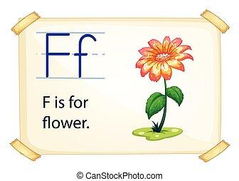 Alphabet F