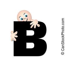 Alphabet Happy B
