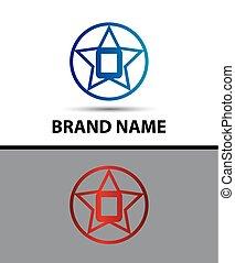 Alphabet icon O logo design vector