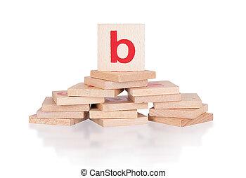 Alphabet - letter B