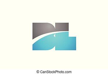 alphabet letter bl b l logo company icon design - alphabet...