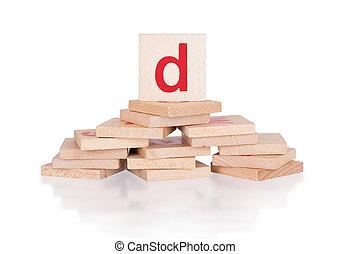 Alphabet - letter D