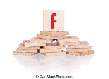 Alphabet - letter F