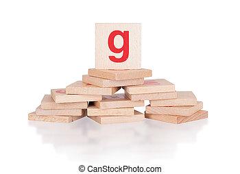 Alphabet - letter G