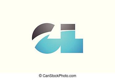 alphabet letter gl g l logo company icon design - alphabet...