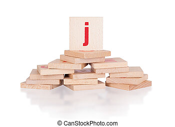 Alphabet - letter J