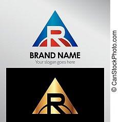 Alphabet Letter R logo