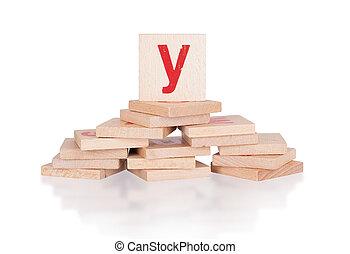Alphabet - letter Y