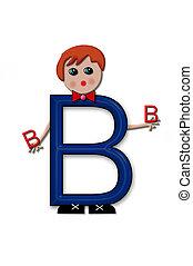 Alphabet Living Letters B