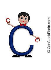 Alphabet Living Letters C
