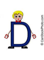 Alphabet Living Letters D
