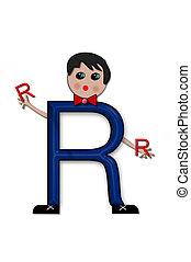 Alphabet Living Letters R
