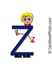 Alphabet Living Letters Z